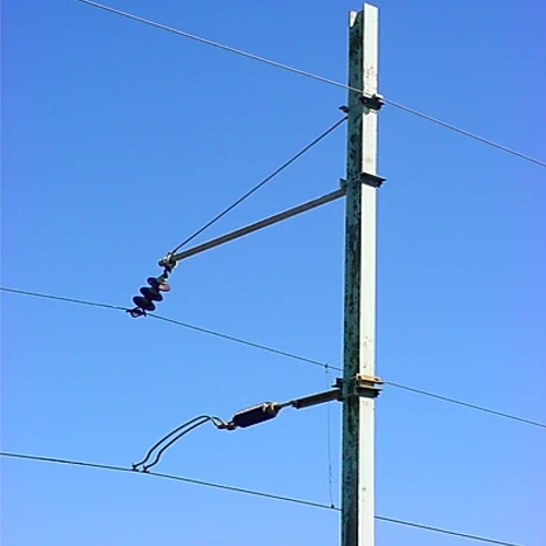25kV AC Double Hockey Stick Arr.